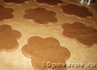 рецепт домашнего имбирного печенья