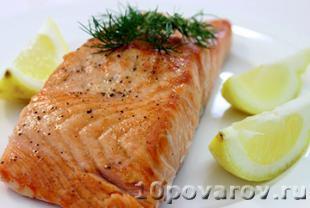 лосось запеченный в духовке фото