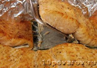 запечь лосось в духовке рецепт