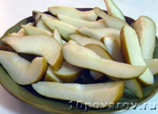 грушевый компот рецепт