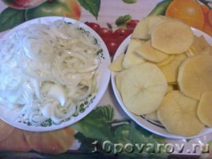карп запеченный в духовке с картошкой рецепт