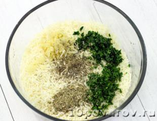 картофель пармезан в духовке