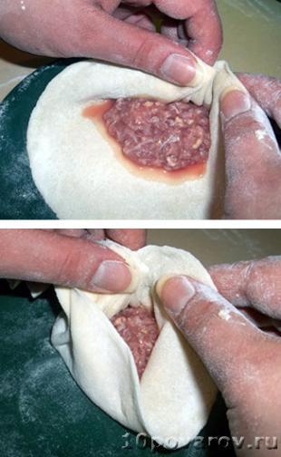 готовить хинкали грузински