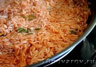 рис в томате по мексикански