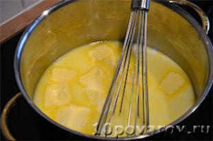 "Французский десерт ""Крок ан буш"" рецепт с фото"