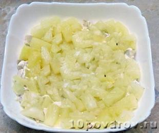 Салат «Курочка-Ряба» из Ленты
