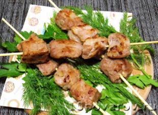 маринад для шашлыка из минералки свинина