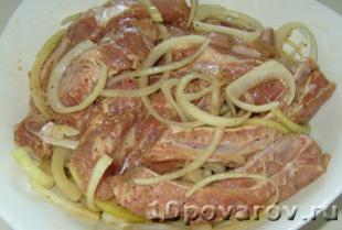 маринованные свиные ребрышки в духовке