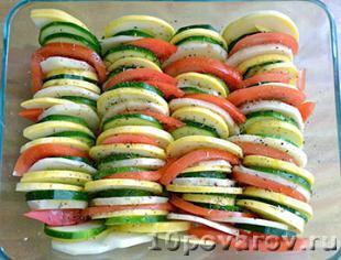 тиан овощной рецеп
