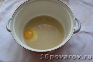 пирожки с капустой и яйцом рецепт