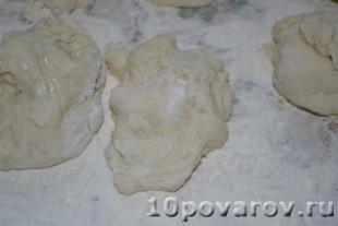 вкусные пирожки с капустой и яйцом