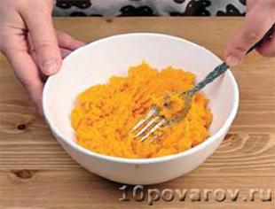 Рис с тыквой в мультиварке на молоке