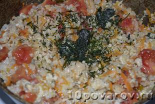 Рагу с рисом рецепт с фото