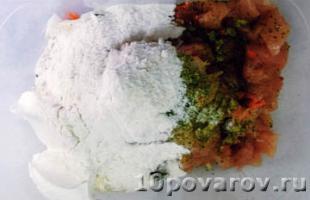 рубленные куриные котлеты пошаговый рецепт