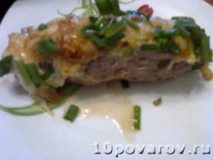 рецепт рулетиков из свинины с грибами