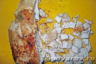 салат грибная корзинка рецепт