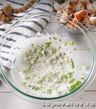 Салат из омаров