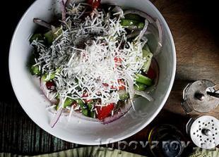 сербский салат овощной