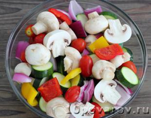 овощи на гриле рецепт