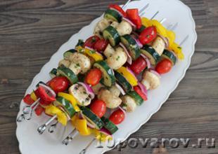 овощи на гриле рецепт с фото