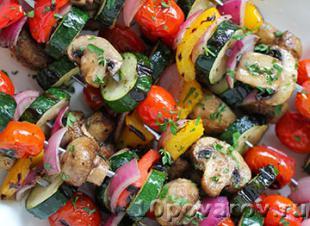 как сделать овощи гриль