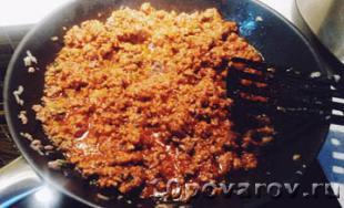 соус болоньезе с томатной пастой рецепт