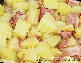 теплый немецкий картофельный салат
