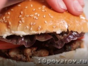 Веганский бургер