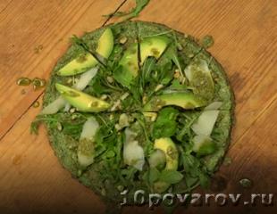 Вегетарианская пицца в домашних условиях