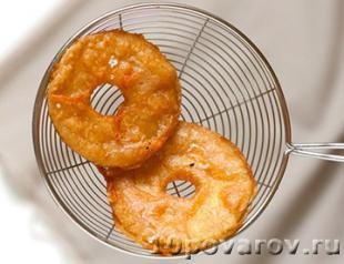 яблоки во фритюре рецепт