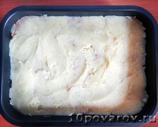 картофельная запеканка с фаршем в духовке рецепты с фото