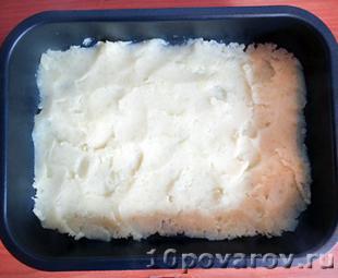запеканка из картофельного пюре и фарша