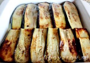 Запеканка с картошкой и баклажанами