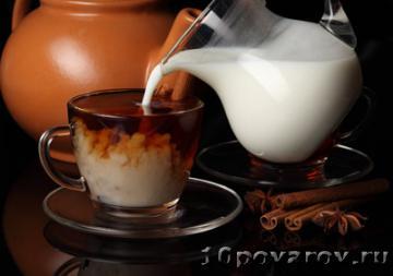 Черный чай с молоком: вред и польза