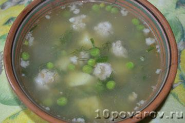 Гороховый суп из свежего гороха