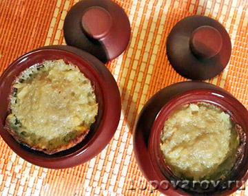 Картофельная бабка в горшочке