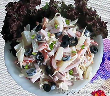 Салат маргарита как в магните