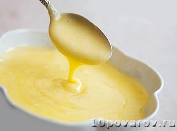Соус с лимоном и горчицей