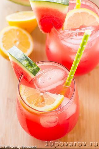 Арбузный лимонад - рецепт с фото